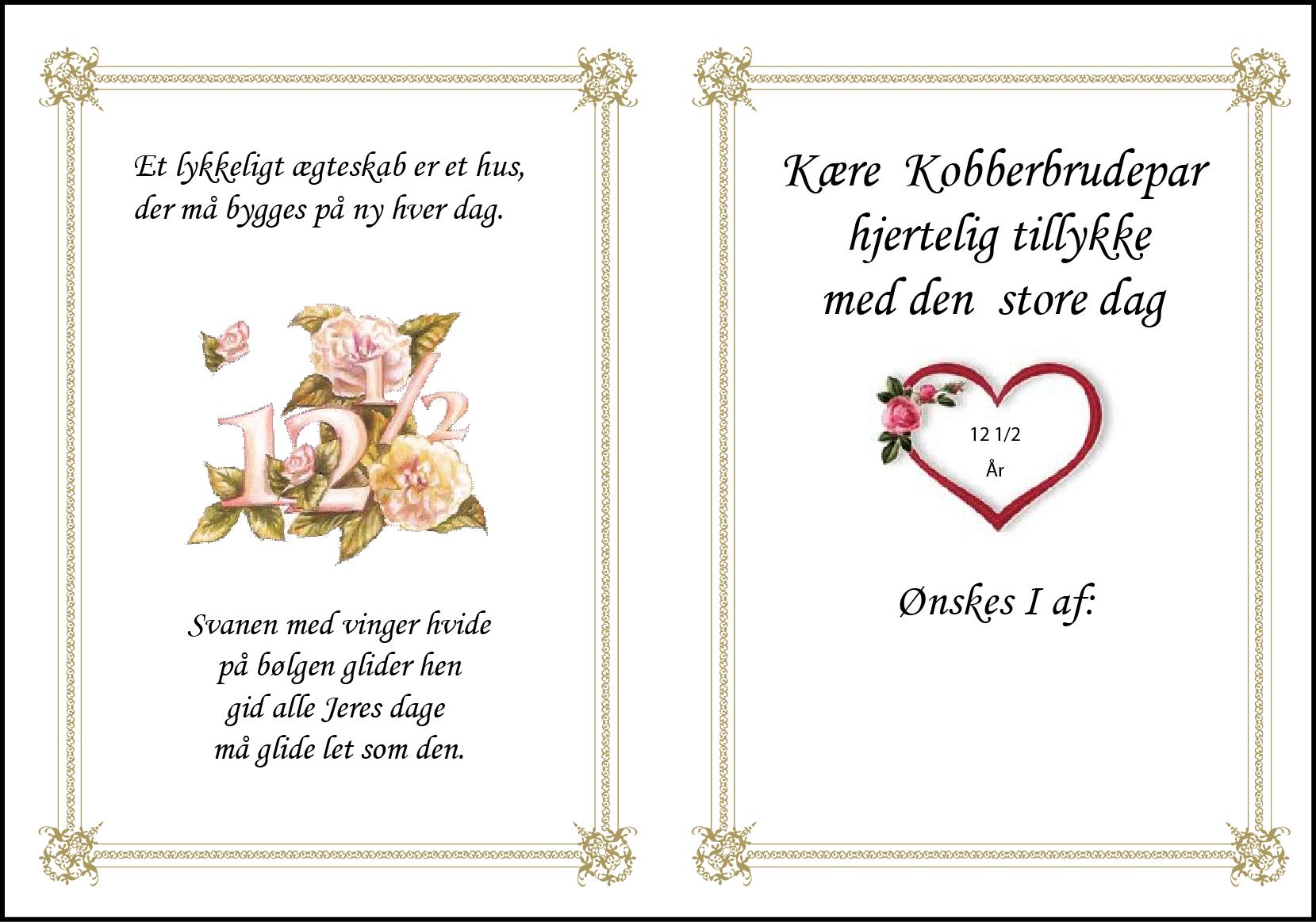 Kobber Bryllup 2