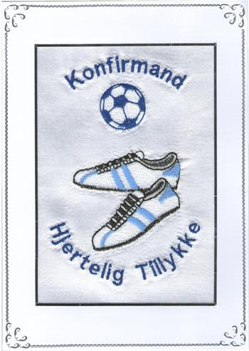 Håndbold Telegram konfirmation