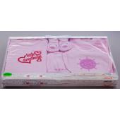 Babysæt 7 ting lyserød