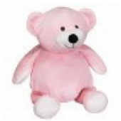 Pink Bamse Buddy Kramme dyr.