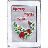 Tellegram 40 år med rosenkrans