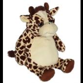 Giraf krammedyr, til broderi på maven