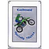 Konfirmand Telegram Dreng Motorcross