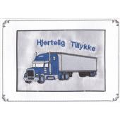 Truck i blå